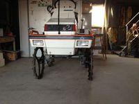田植機の車輪改造
