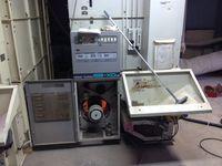 乾燥機の試運転